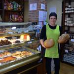 Tienda rumores y panadería golosa en Grazalema